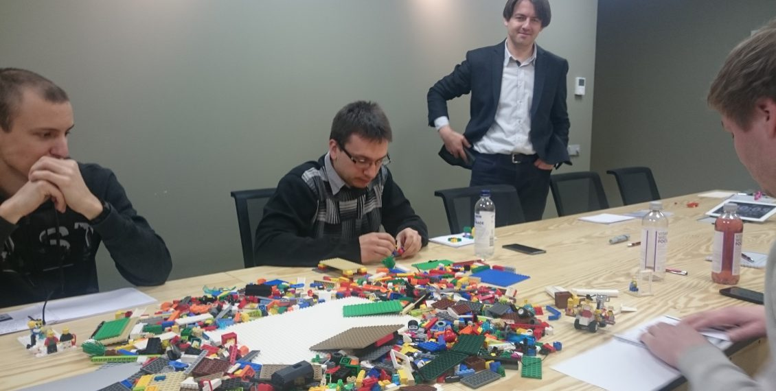 Marko Rillo - Lego Serious Play at Net Group - by Raigo Raid