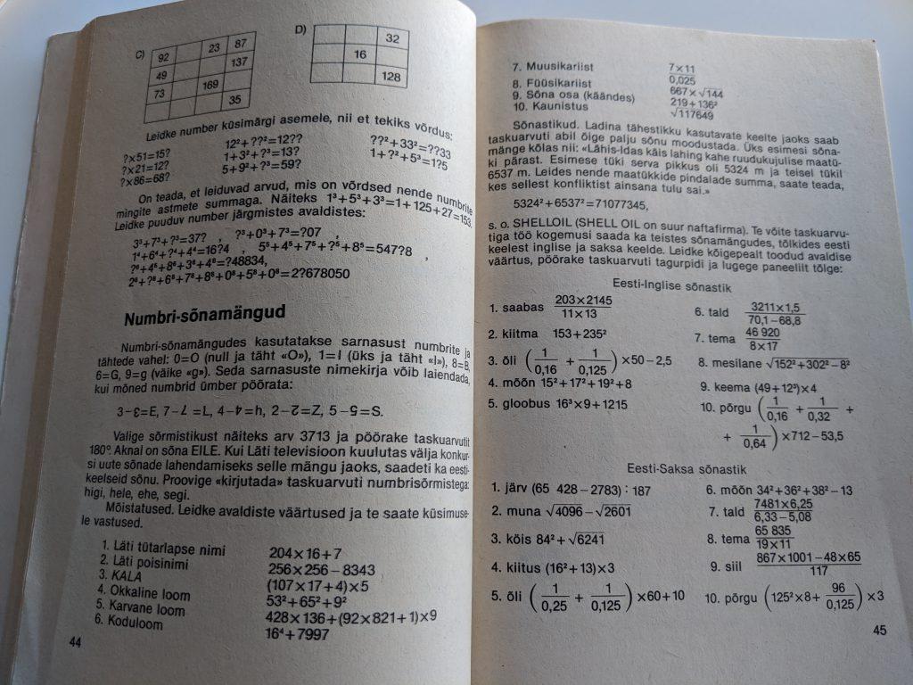 Tomass Romanovskis 1987 Taskuarvutist nii ja teisiti lk 44