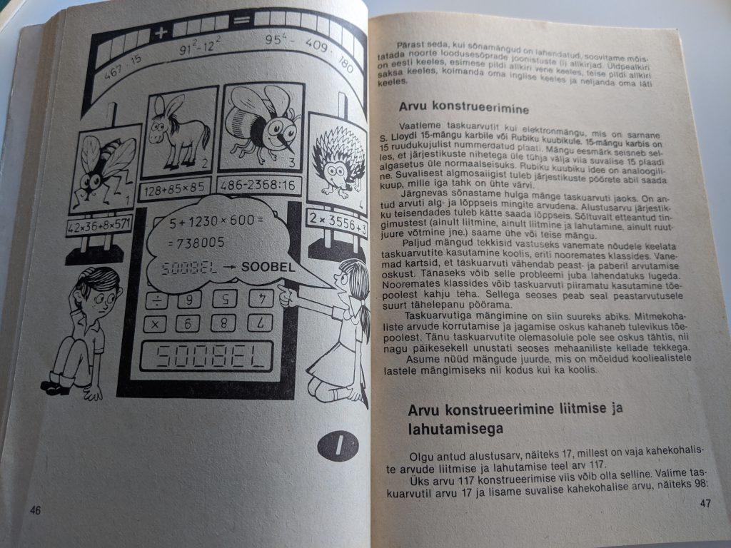 Tomass Romanovskis 1987 Taskuarvutist nii ja teisiti lk 46