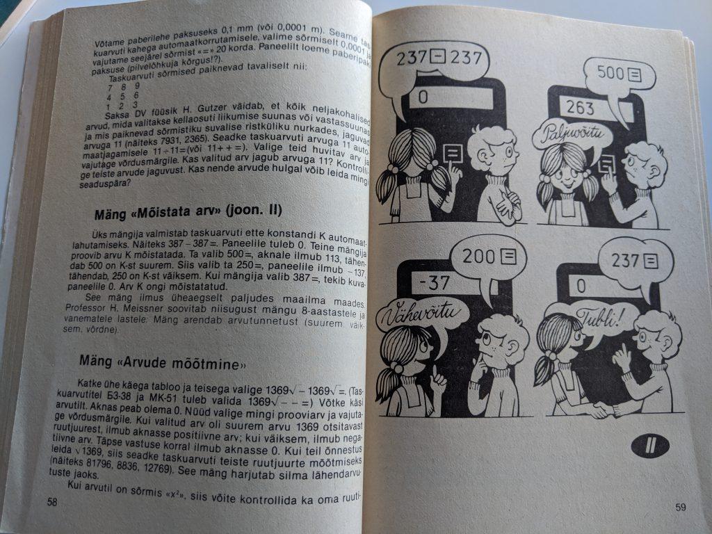 Tomass Romanovskis 1987 Taskuarvutist nii ja teisiti lk 59