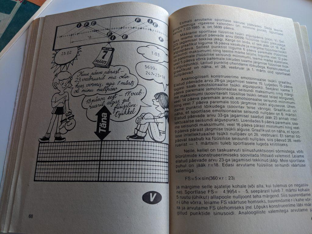 Tomass Romanovskis 1987 Taskuarvutist nii ja teisiti lk 68