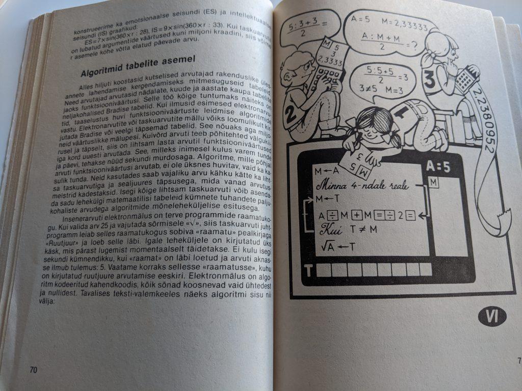 Tomass Romanovskis 1987 Taskuarvutist nii ja teisiti lk 70