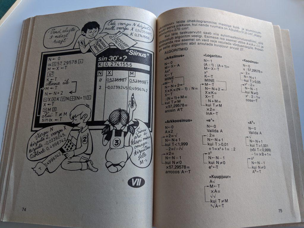 Tomass Romanovskis 1987 Taskuarvutist nii ja teisiti lk 74