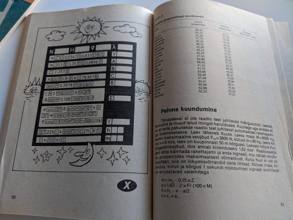 Tomass Romanovskis 1987 Taskuarvutist nii ja teisiti lk 90
