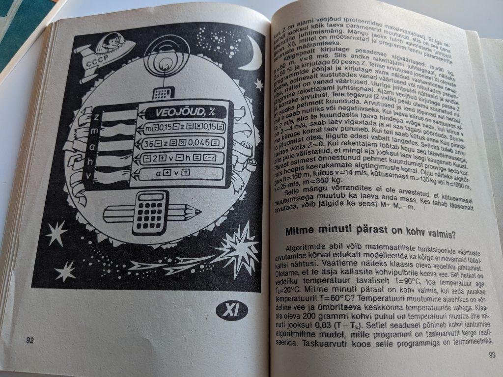 Tomass Romanovskis 1987 Taskuarvutist nii ja teisiti lk 92
