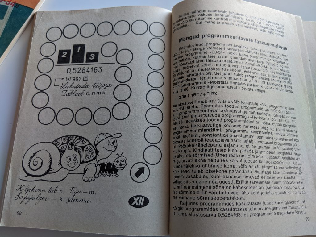 Tomass Romanovskis 1987 Taskuarvutist nii ja teisiti lk 96
