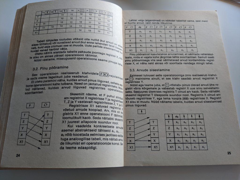 Gennadi Slavin 1988 Programmeerimie Programmeeritaval Mikrokalkulaatoril Elektroonika B3-34 lk 24