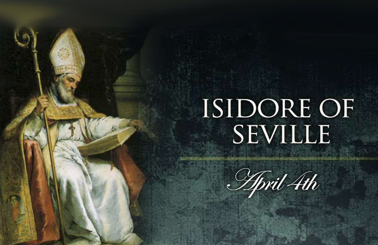 St. Isidore of Seville Patron Saint of Computer Programmers